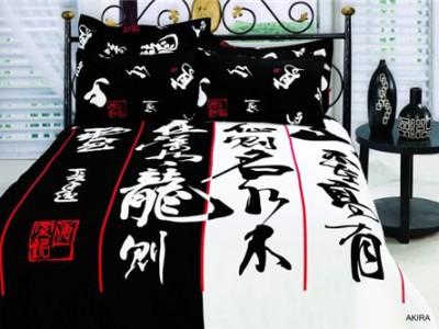 Двуспальное евро постельное белье ARYA  Akira