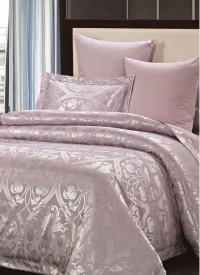 Двуспальное евро постельное белье жаккард ARYA BETINA, серия Pure Series