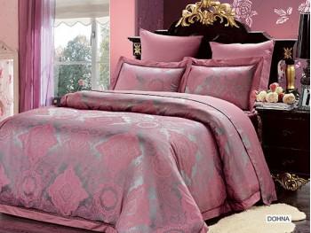 Двуспальное евро постельное белье бамбук жаккард ARYA  DOHNA