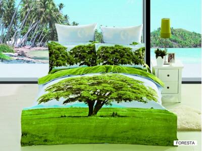 Двуспальное евро постельное белье ARYA FORESTA, серия 3D