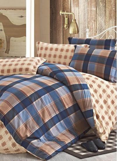 Двуспальное евро постельное белье ARYA GOMA