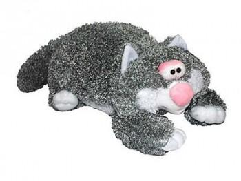 Подушка-игрушка Кот серый