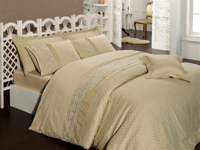 Постельное белье FIRST CHOICE  BVIP-03  ELEGANCE CAMEL