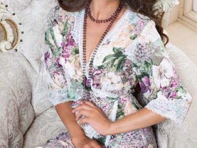 Халат женский Fleur (Флер) MiaMia 17233