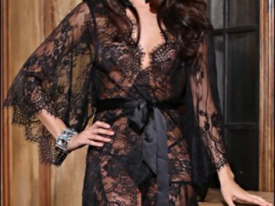 Халат-кимоно Chanel Black (Шанель Блэк) MiaMia 2023