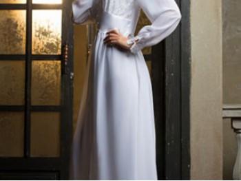 Халат (пеньюар) Lady In White (Леди Ин Вайт) MiaMia 17259