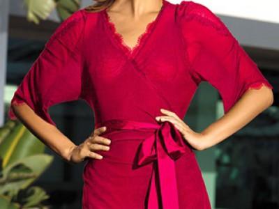 Халат женский Ledy In Red  (Леди Ин Ред) MiaMia 12029