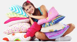 Текстиль для дома, постельное белье, подушки, одеяла, простыни, халаты